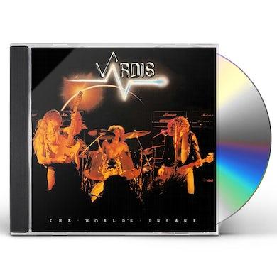 VARDIS WORLD'S INSANE CD
