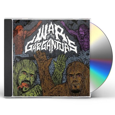 Philip Anselmo H & Warbeast WAR OF THE GARGANTUAS CD