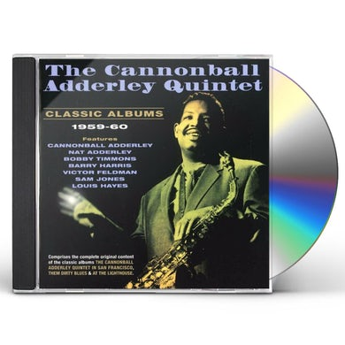Cannonball Adderley CLASSIC ALBUMS 1959-60 CD