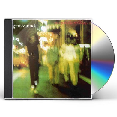 Gino Vannelli NIGHTWALKER & BLACK CARS CD