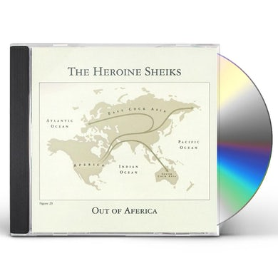 Heroine Sheiks OUT OF AFERICA CD