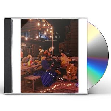 BTOB SPECIAL ALBUM: HOUR MOMENT (MOMENT VERSION) CD