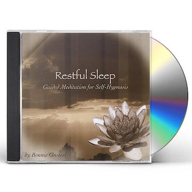 Bonnie Groessl RESTFUL SLEEP: GUIDED MEDITATION FOR SELF-HYPNOSIS CD
