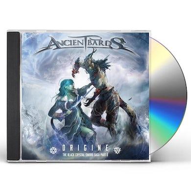 Ancient Bards ORIGINE (THE BLACK CRYSTAL SWORD SAGA PART 2) CD