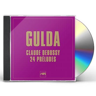 Debussy / Gulda 24 PRELUDES CD