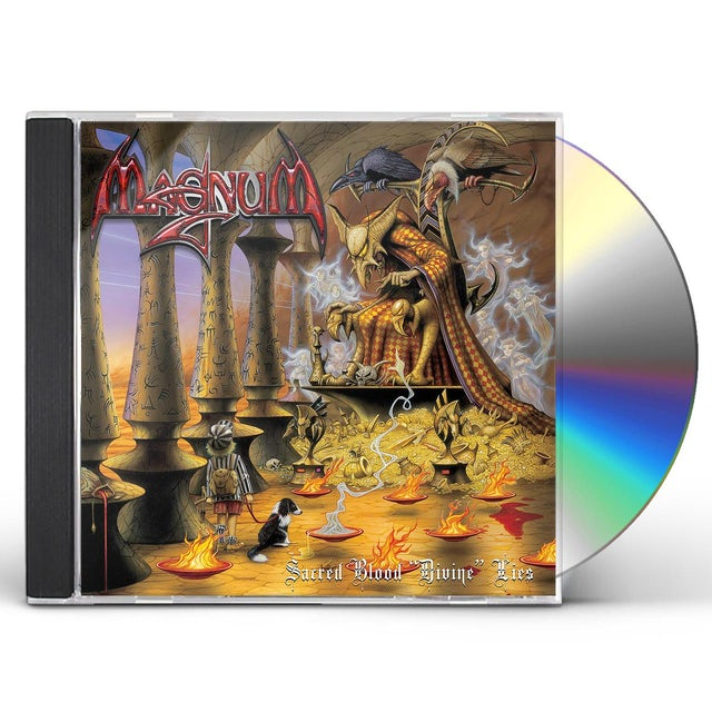 Magnum SACRED BLOOD, DIVINE LIES CD