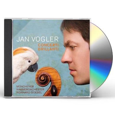 Jan Vogler CONCERTI BRILLANTI CD