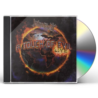 Judas Priest TOUCH OF EVIL: LIVE CD