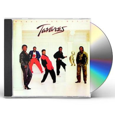 Tavares WORDS & MUSIC CD