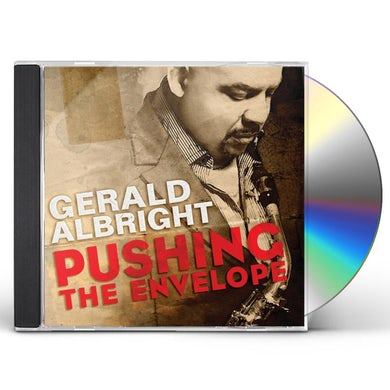 Gerald Albright PUSHING THE ENVELOPE CD
