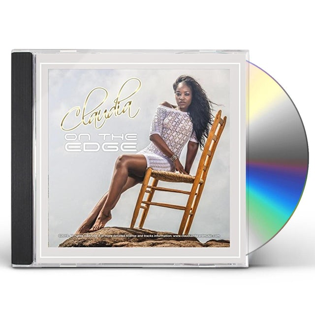 Claudia ON THE EDGE CD