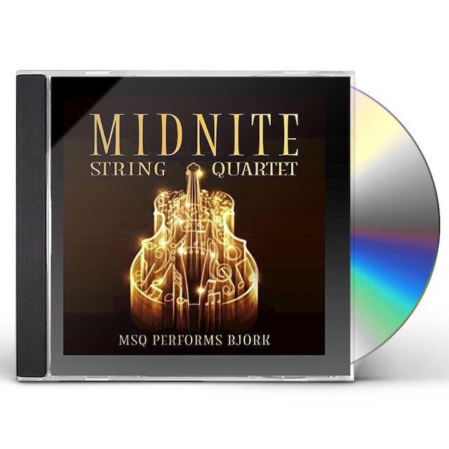 Midnite String Quartet MSQ PERFORMS BJORK (MOD) CD