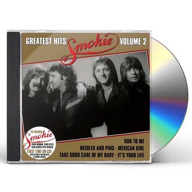Smokie GREATEST HITS VOL 2 CD - Gold Disc