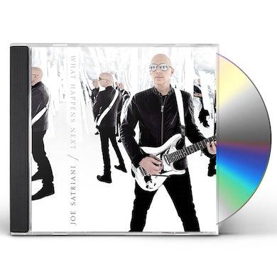 Joe Satriani WHAT HAPPENS NEXT CD
