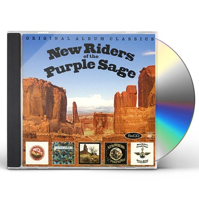 New Riders Of The Purple Sage ORIGINAL ALBUM CLASSICS CD