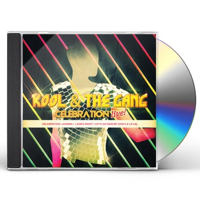 Kool & The Gang CELEBRATION LIVE! CD