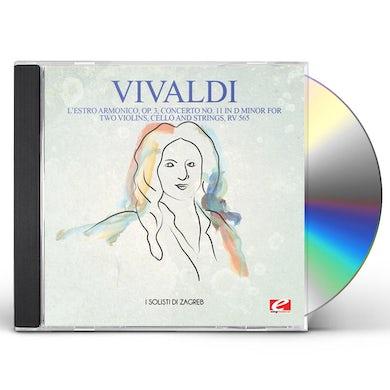 Vivaldi L'ESTRO ARMONICO OP. 3 CONCERTO NO. 11 IN D MINOR CD