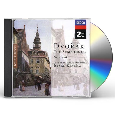 Dvorak / Kertesz SYMPHONIES NOS. 4-5-6 CD