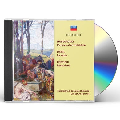Ernest Ansermet MUSSORGSKY RAVEL RESPIGHI: ORCHESTRAL WORKS CD