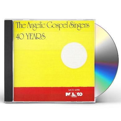 Angelic Gospel Singers 40 YEARS CD
