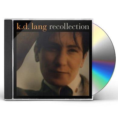 K.D. Lang RECOLLECTION CD