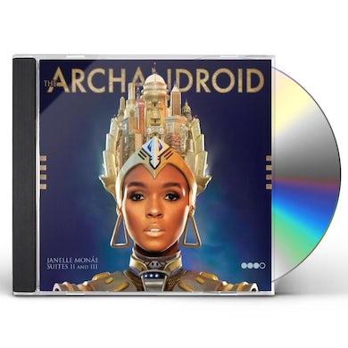 Janelle Monae ARCHANDROID CD
