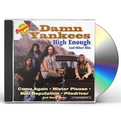 Damn Yankees HIGH ENOUGH & OTHER HITS CD