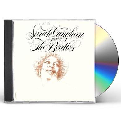 Sarah Vaughan SONGS OF THE BEATLES CD