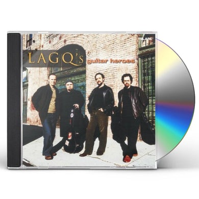 Los Angeles Guitar Quartet LAGQ: GUITAR HEROES CD