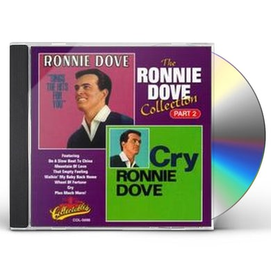 Ronnie Dove COLLECTION 2: SINGS HITS FOR YOU / CRY CD