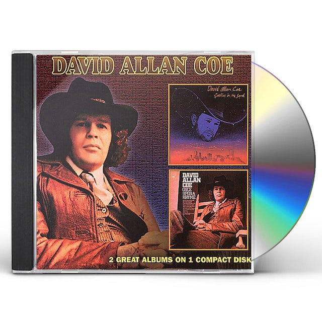 David Allan Coe CASTLES IN THE SAND / ONCE UPON A RHYME CD