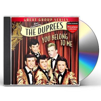 Duprees YOU BELONG TO ME CD