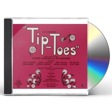 George Gershwin TIP-TOES & TELL ME MORE CD