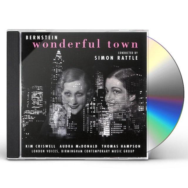 Simon Rattle BERNSTEIN: WONDERFUL TOWN CD
