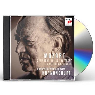 W.A. Mozart SERENADE NO.35 POST HORN SERENADE & SYMPHONY HAFFN CD