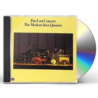 The Modern Jazz Quartet LAST CONCERT CD