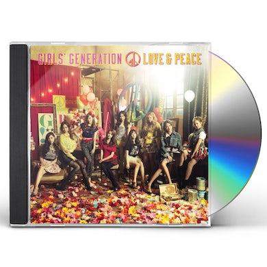 Girls' Generation GIRLS & PEACE CD
