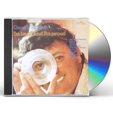 Gene Vincent IM BACK & IM PROUD CD