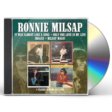 Ronnie Milsap IT WAS ALMOST LIKE A SONG / ONLY ONE LOVE IN MY CD