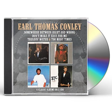 Earl Thomas Conley SOMEWHERE BETWEEN RIGHT & WRONG / DON'T MAKE IT CD