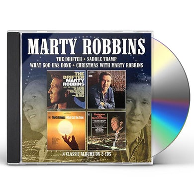 Marty Robbins DRIFTER / SADDLE TRAMP / WHAT GOD HAS DONE / XMAS CD
