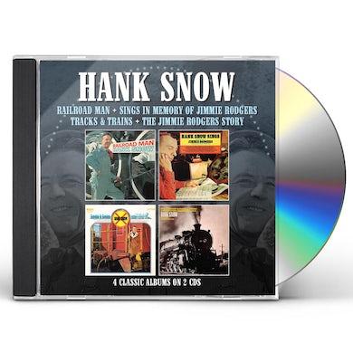 Hank Snow RAILROAD MAN / SINGS IN MEMORY OF JIMMIE RODGERS CD