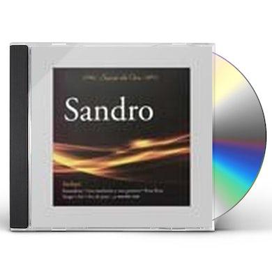 Sandro SERIE DE ORO CD