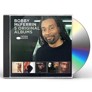 Bobby Mcferrin 5 ORIGINAL ALBUMS CD
