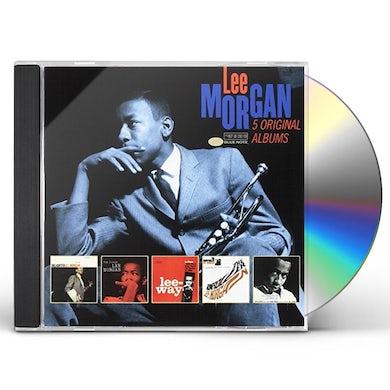 Lee Morgan 5 ORIGINAL ALBUMS CD