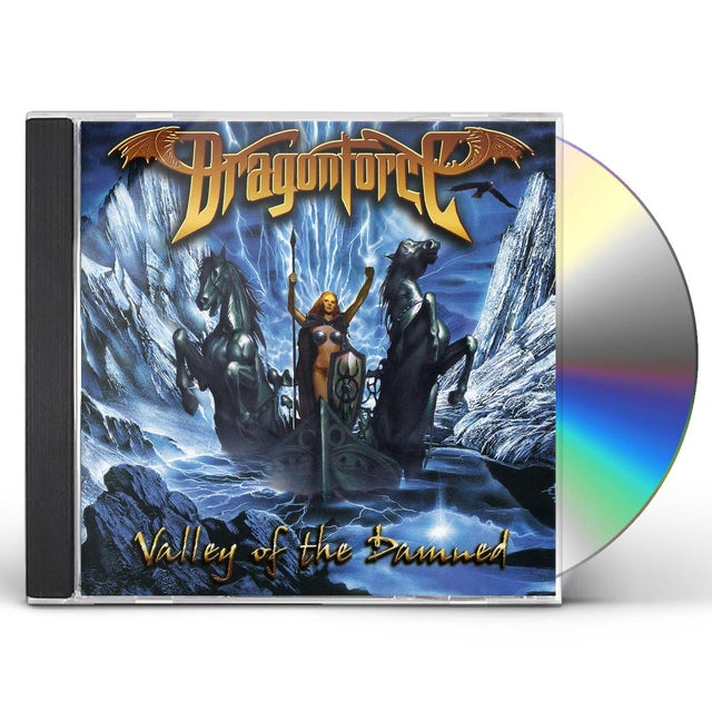 Dragonforce VALLEY OF THE DAMNED CD