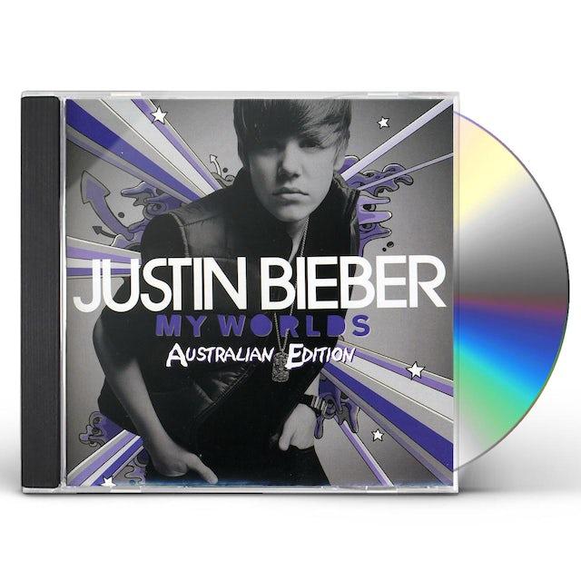 Justin Bieber MY WORLDS/MY WORLDS 2.0 CD