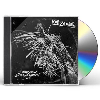 Rob Zombie SPOOKSHOW INTERNATIONAL LIVE CD