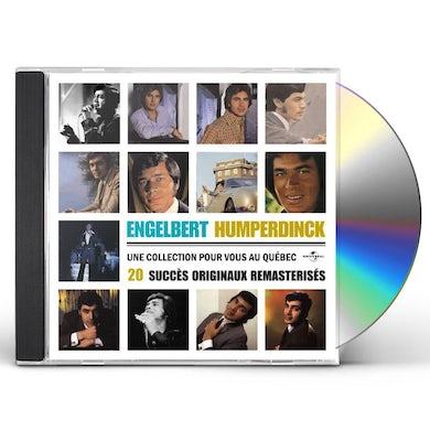 Engelbert Humperdinck 20 SUCCES-COLL POUR QUEBEC CD