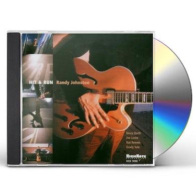 Randy Johnston HIT & RUN CD